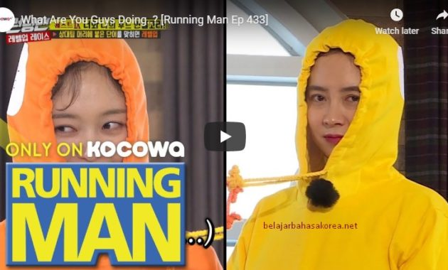 episode running man terseru 2019